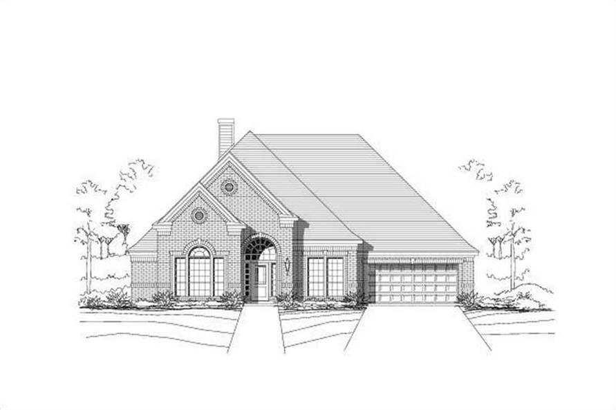 Main image for house plan # 15109