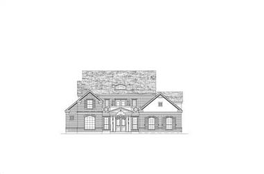 4-Bedroom, 4562 Sq Ft Luxury Home Plan - 156-1779 - Main Exterior