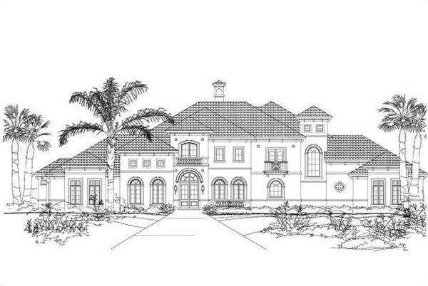 Main image for house plan # 15400