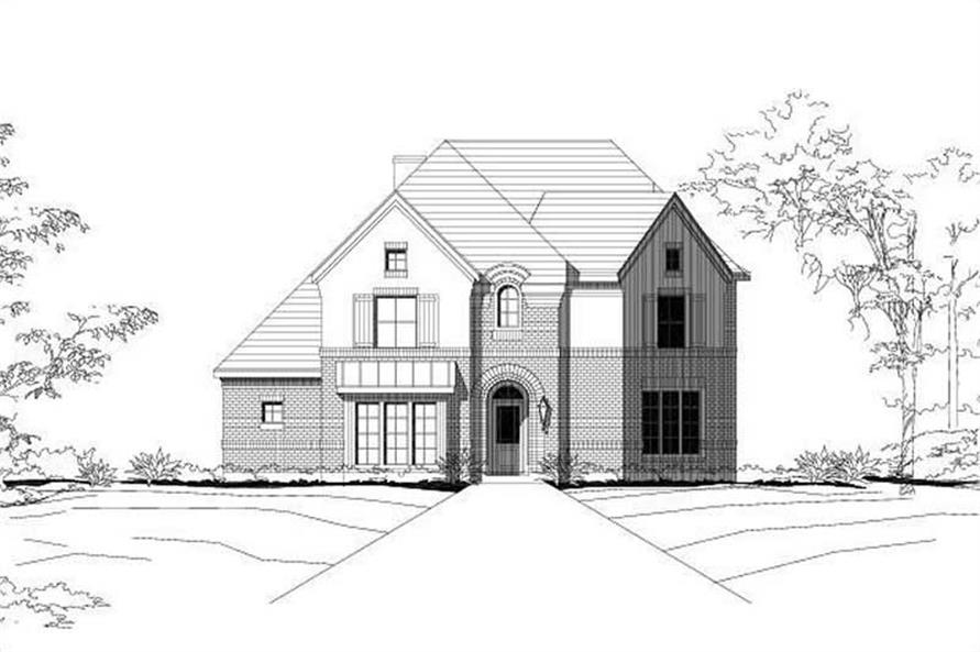 Main image for house plan # 15178