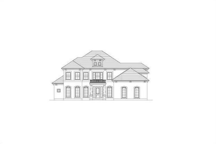 Main image for house plan # 15443
