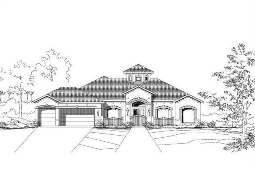 Main image for house plan # 15472