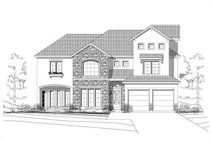 Main image for house plan # 15481