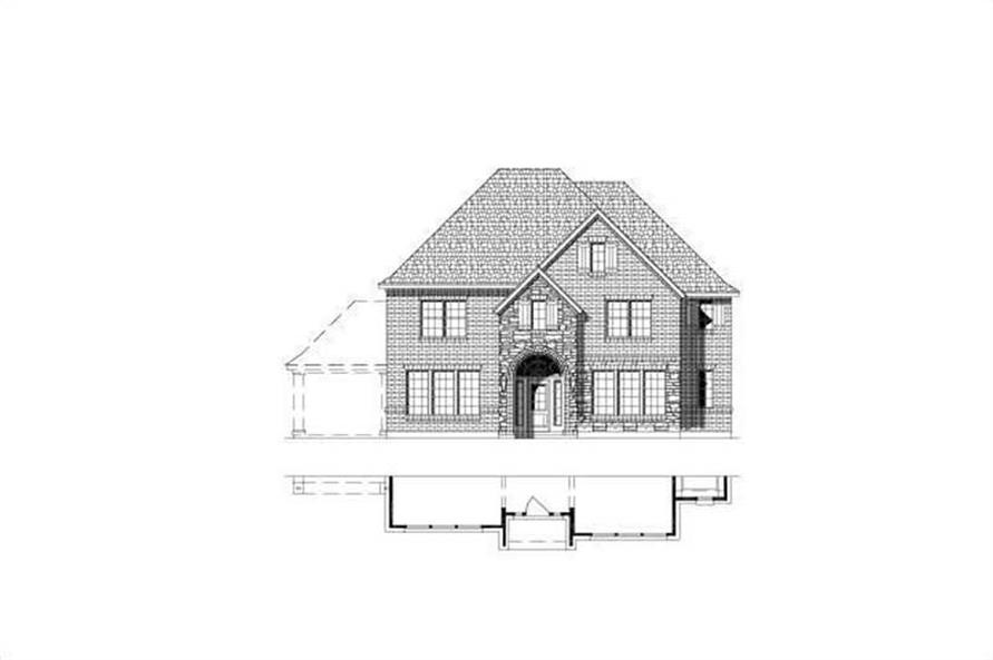 Main image for house plan # 15487
