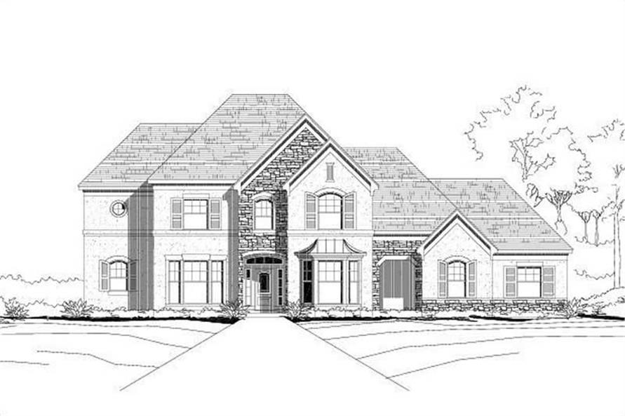 Main image for house plan # 15220