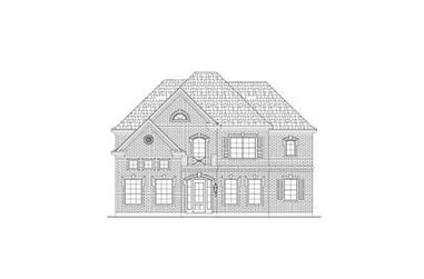 4-Bedroom, 3967 Sq Ft Luxury Home Plan - 156-1820 - Main Exterior
