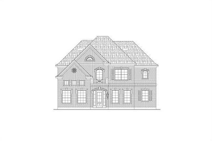 Main image for house plan # 15198