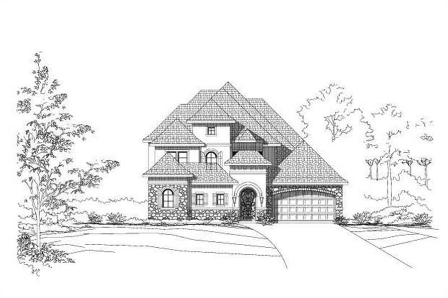 Main image for house plan # 15489