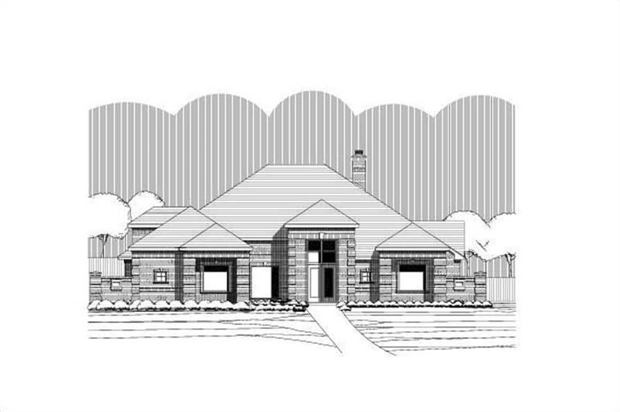 Main image for house plan # 15189