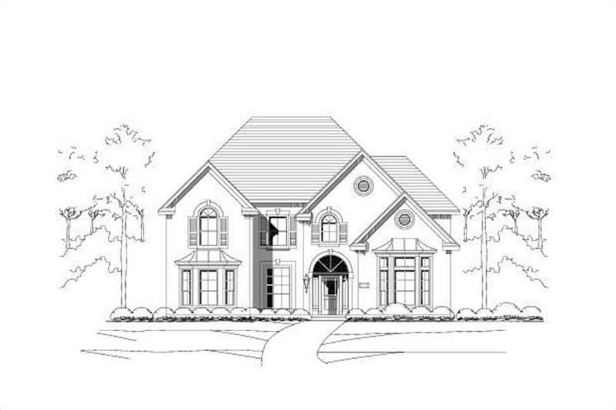 Main image for house plan # 15186