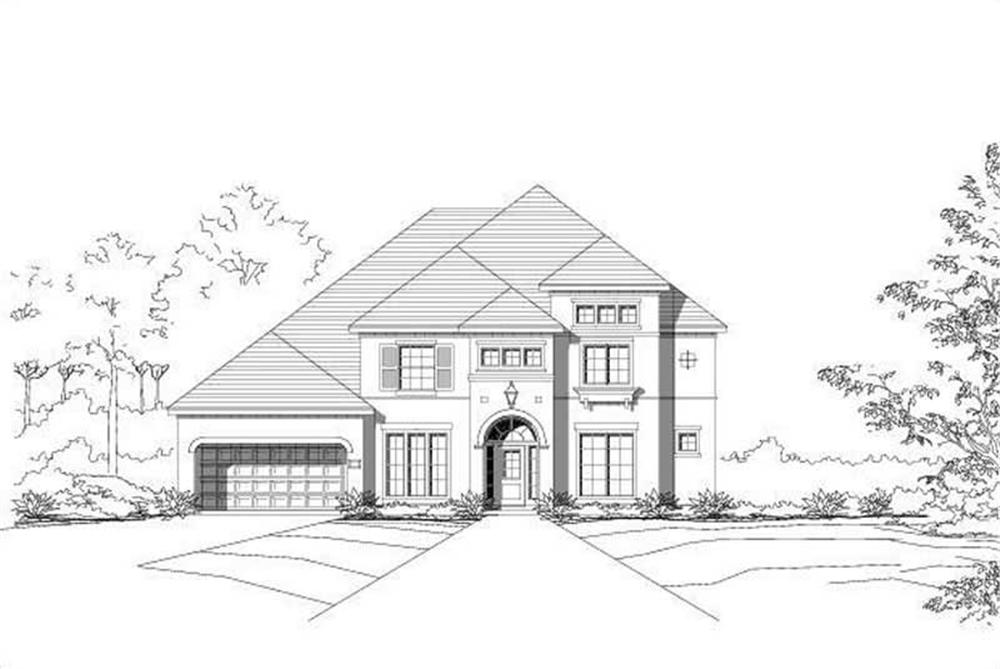 Main image for house plan # 15468