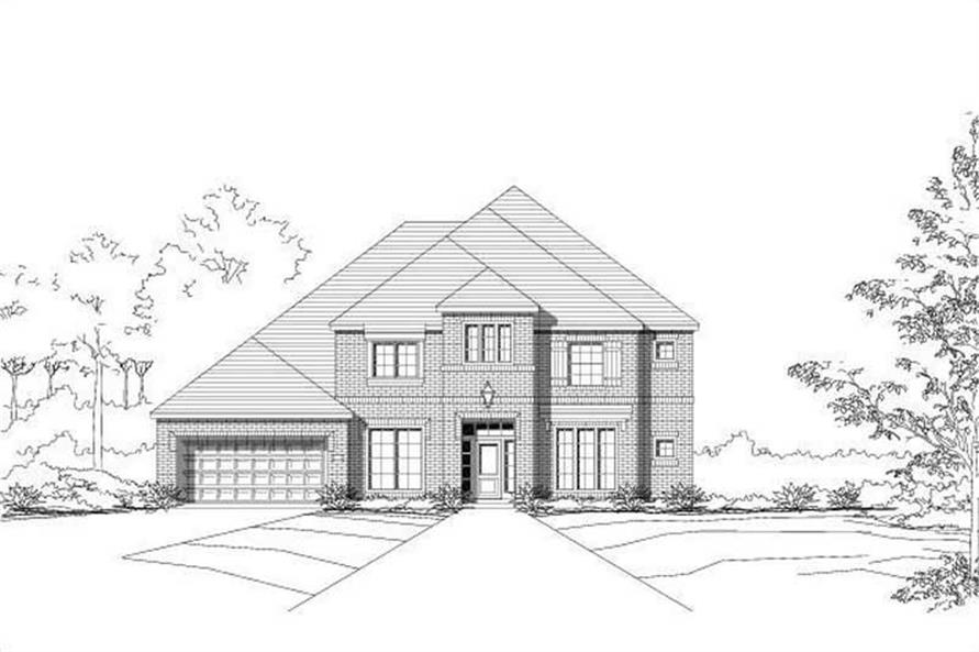 Main image for house plan # 15469