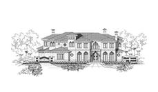 Main image for house plan # 15242