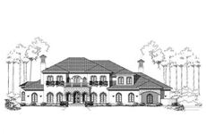 Main image for house plan # 15239