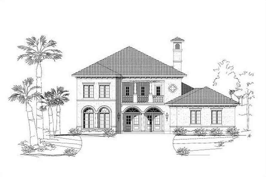 Main image for house plan # 15225