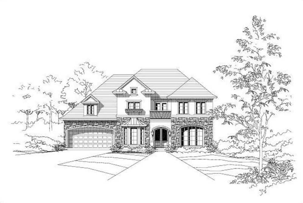 Main image for house plan # 15211