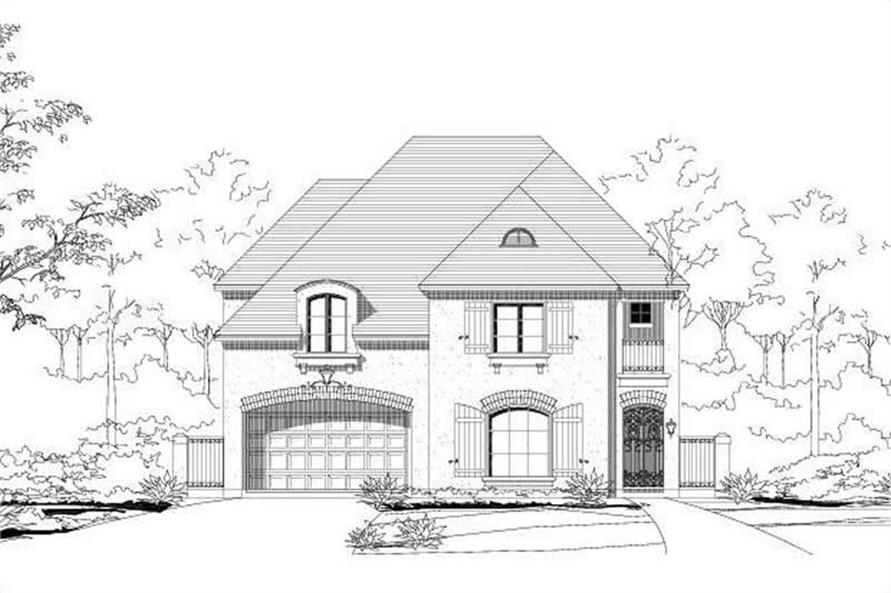 Main image for house plan # 15227