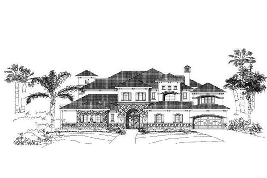 Main image for house plan # 15248