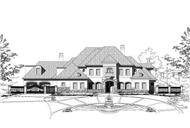 Main image for country home plans # 15314