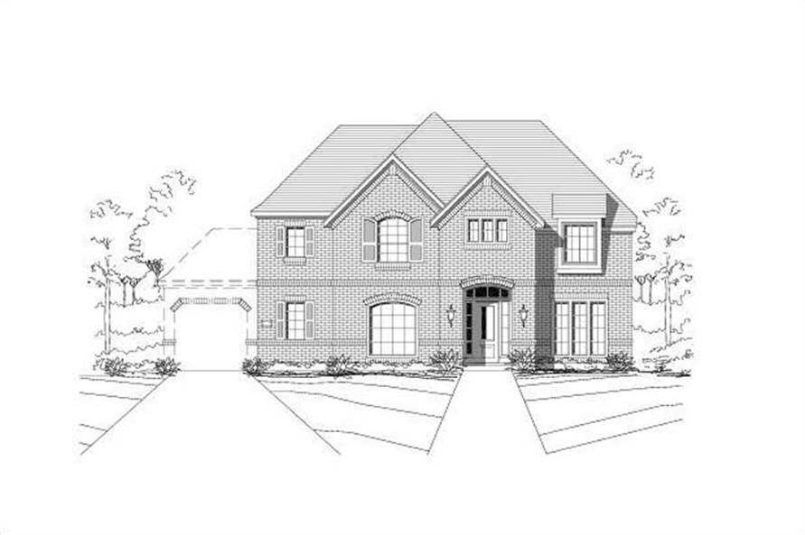 Main image for house plan # 15271