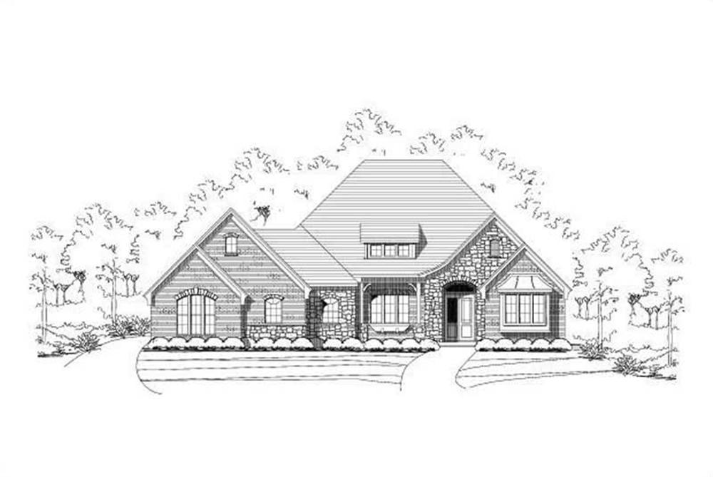 Main image for house plan # 15193