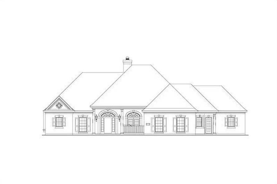 Main image for house plan # 15101