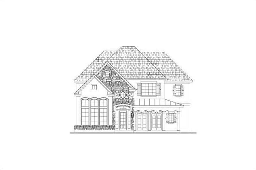 Main image for house plan # 15201