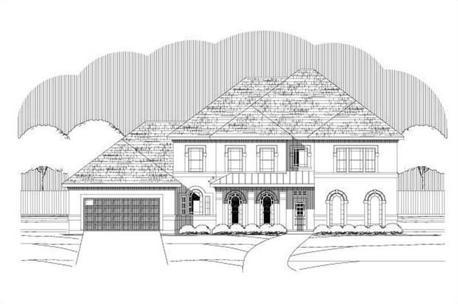 Main image for house plan # 15150