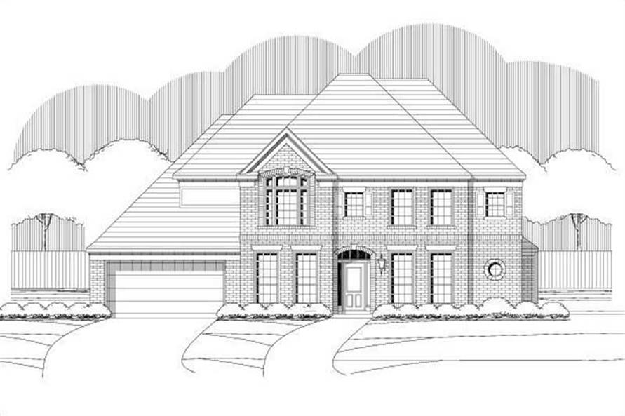 Main image for house plan # 15195
