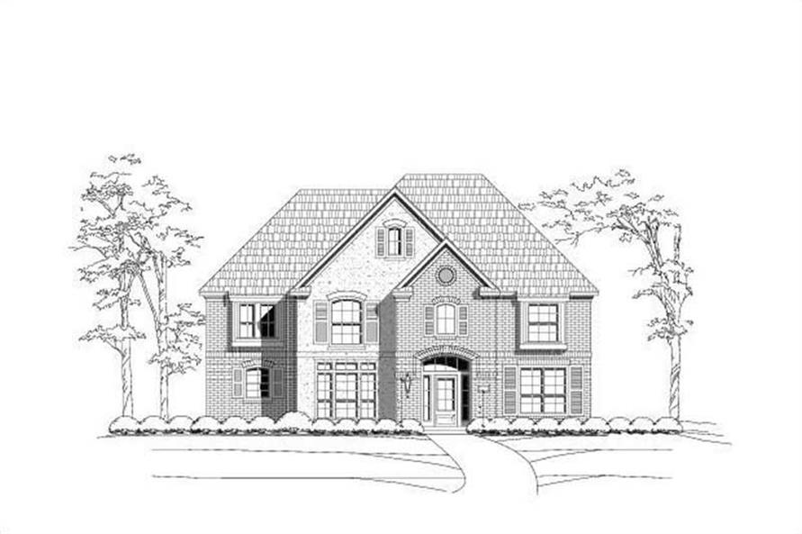 Main image for house plan # 15390