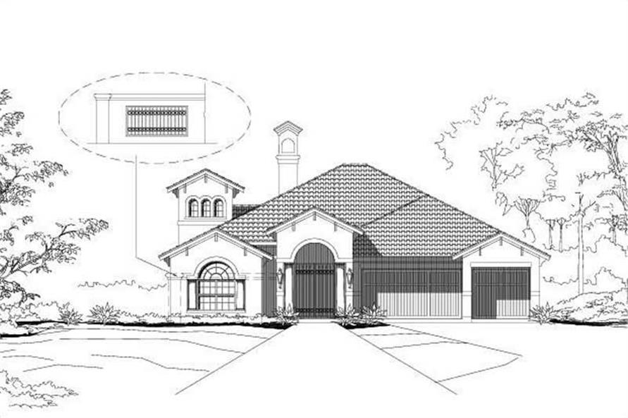 Main image for house plan # 15094