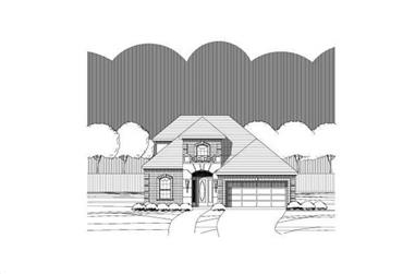 3-Bedroom, 2370 Sq Ft Traditional Home Plan - 156-1910 - Main Exterior