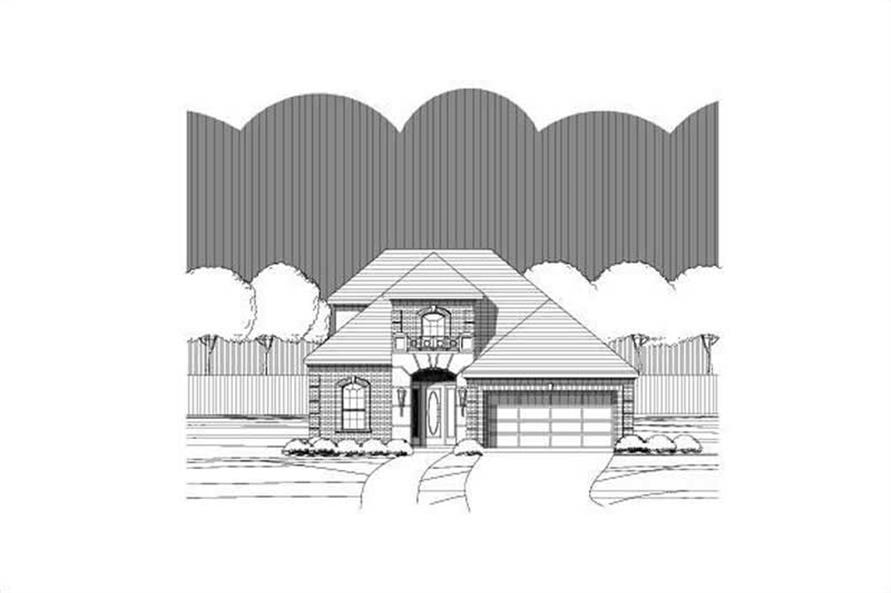 Main image for house plan # 15074