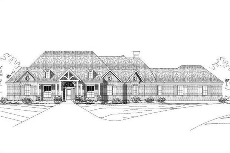 Main image for house plan # 15091