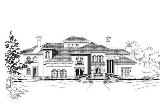 Main image for house plan # 15336