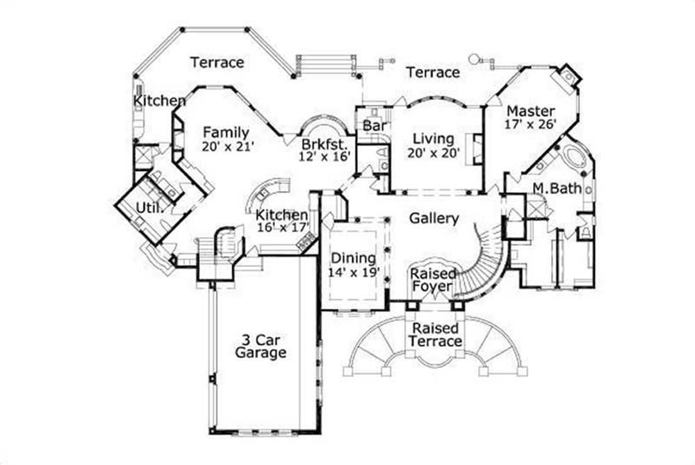 Large images for House Plan        Home Plan    FIRST STORY FLOOR PLAN