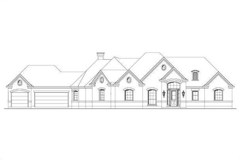 Main image for house plan # 15086