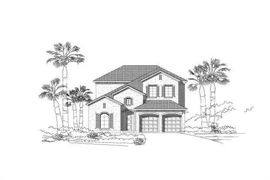 Main image for house plan # 15113