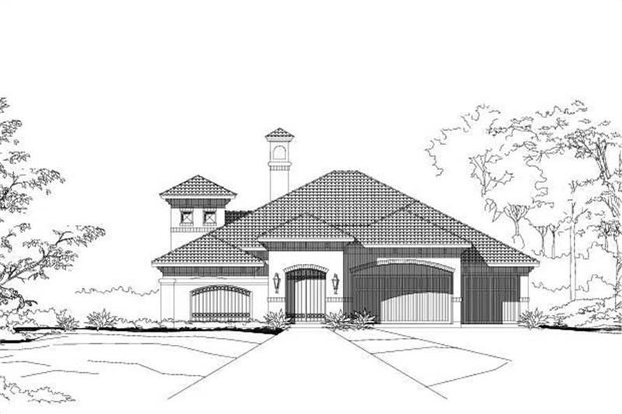 Main image for house plan # 15093