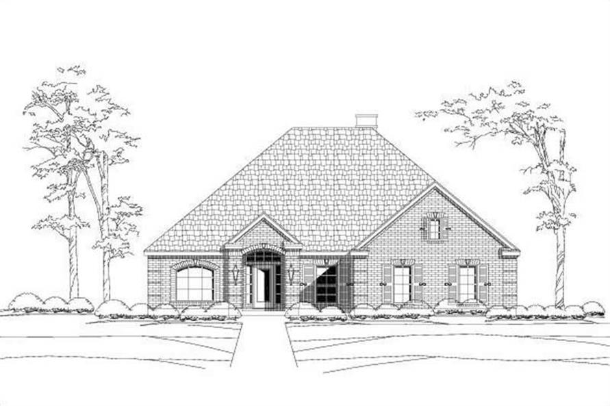 Main image for house plan # 15088