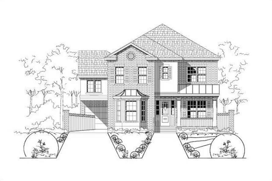 Main image for house plan # 15117