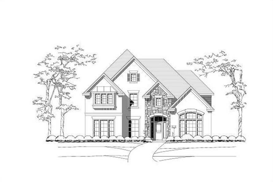 Main image for house plan # 15184