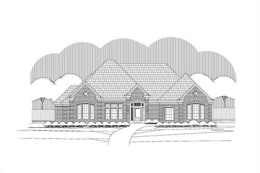 Main image for house plan # 15082
