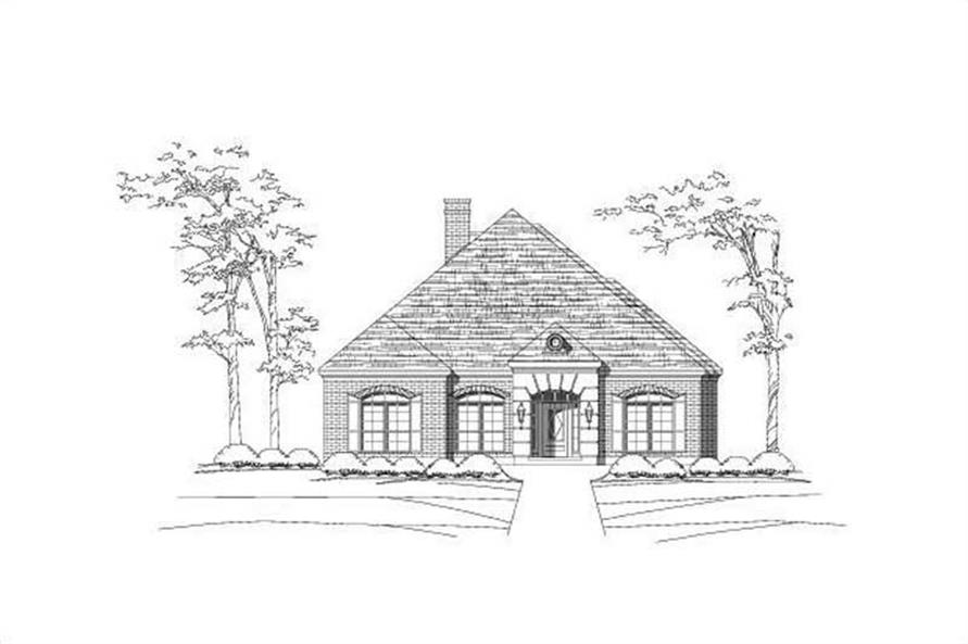Main image for house plan # 15075