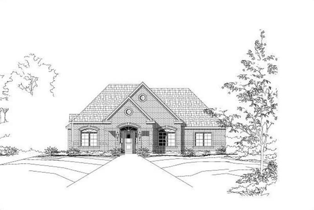 Main image for house plan # 15046