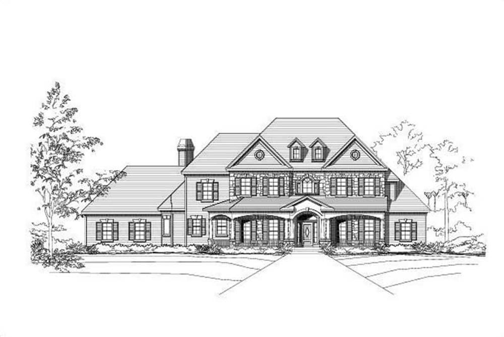 Main image for house plan # 15493