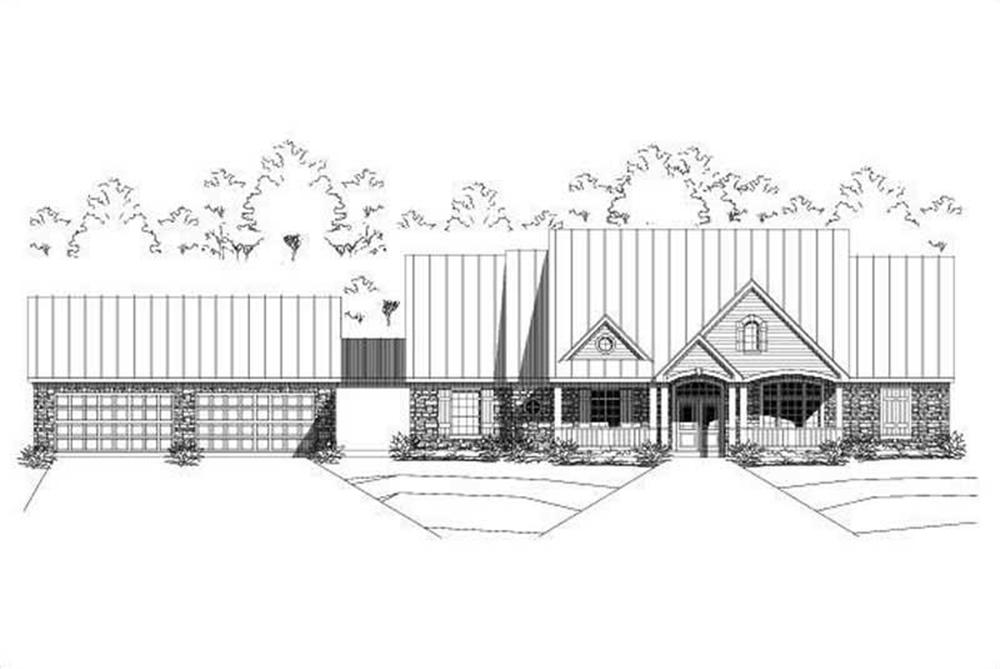 Main image for house plan # 15078