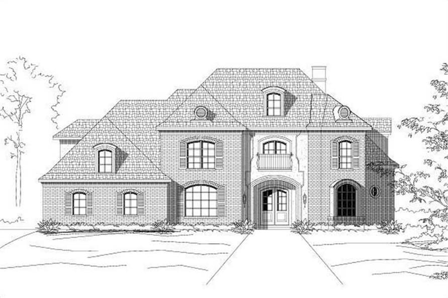 Main image for house plan # 15165