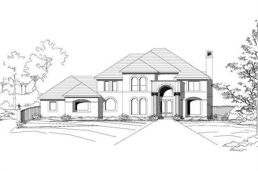 Main image for house plan # 15162