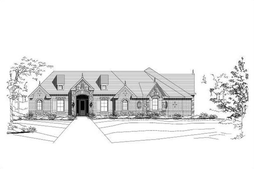 Main image for house plan # 15491